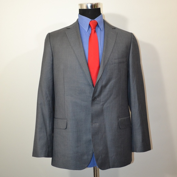 Franco Ferri Other - Franco Ferri 42R Sport Coat Blazer Suit Jacket Gra